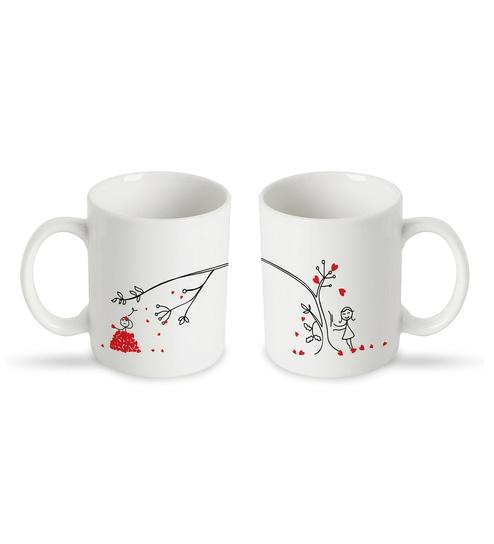 81fa1a73657 Buy Ceramic 250 ML Mug- Set of 2 Online - Slogan Mugs - Mugs ...