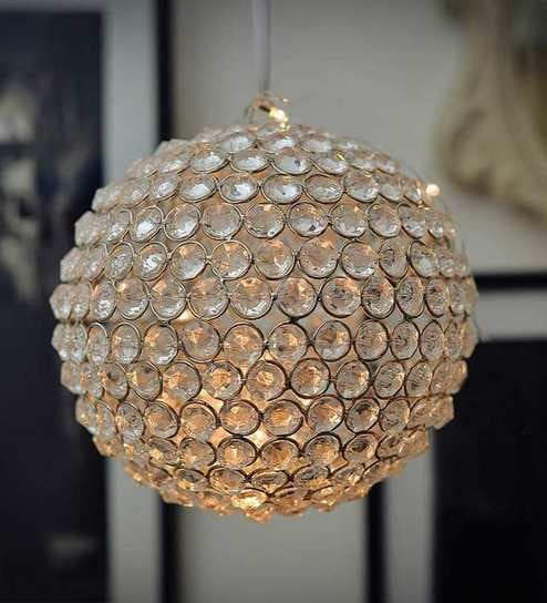 1d981f6f05 Beaded Crystal Ball with Fairy Lights/ Beaded Crystal Light by The Yellow  Door