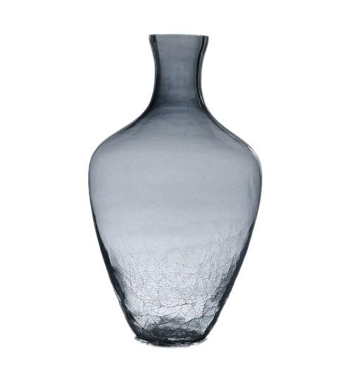 Buy The Yellow Door Smoke Luster Crackled Vase Online Vases