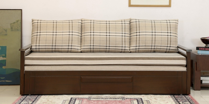 Three Seater Sofa Bed With Storage Mattress By Off The Shelf