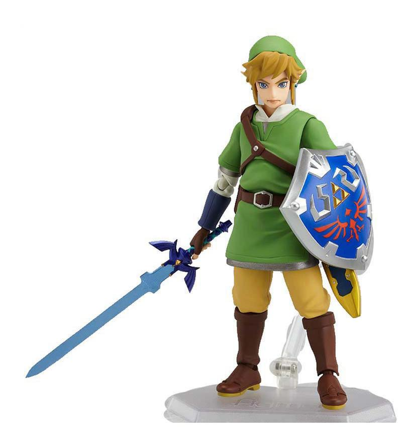 The Legend Of Zelda Skyward Sword Link Action Figure
