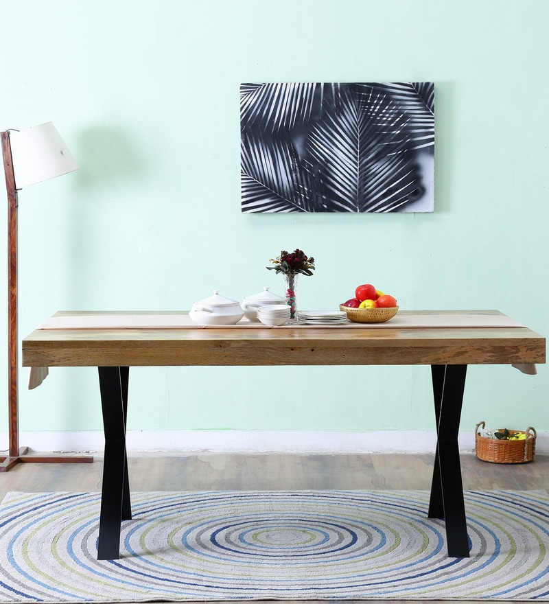 Alcoa Six Seater Dining Table by Bohemiana