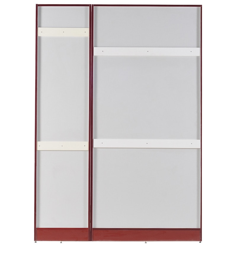 Click to Zoom In/Out  sc 1 st  Pepperfry & Buy Three Door Carcass with 1.5mm Groove Shutter with MR Finish ...