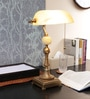 Beige Glass Study Lamp by The 7th Galaxy