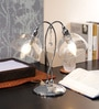 Transparent Glass Study Lamp by The 7th Galaxy
