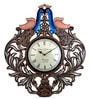 Akhilesh Wall Clock in Multicolor by Mudramark