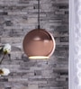Copper Iron Pendant by The Brighter Side