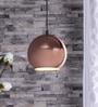 The Brighter Side Copper Iron Pendant