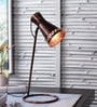 Copper Iron Table Lamp by The Brighter Side