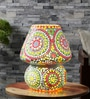 Multicolour Glass Table Lamp by The Brighter Side