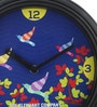 The Elephant Company Multicolour Glass & Plastic 9 x 2 x 9 Inch Antique Birds Wall Clock
