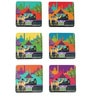 The Elephant Company MDF Coasters Indian Caravan Serai - Set of 6