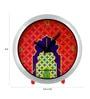 Multicolour Glass & Plastic 5 x 2 x 4 Inch Mihrab Chrome Alarm Clock by The Elephant Company