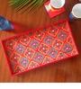 The Elephant Company Ornamental Grandeur Rectangle Tray