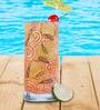 The Elephant Company Polka Paisley Red Mocktail Glass