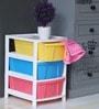 The Furniture Store  Multicolour Three Level Multipurpose Drawer