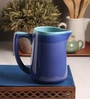 The Himalayan Goods Company Aqua & Turquoise Ceramic Stoneware 1.3 L Pitcher