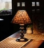 Black Silver Contemporary Table Lamp by The Light House