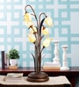 Gold Metal Table Lamp by Kapoor E Illuminations