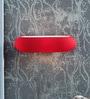 Kapoor E Illuminations Red Glass Wall Light