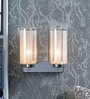 Kapoor E Illuminations Silver Steel Wall Light