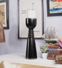 The Mikky Shoppe Station Black Mango Wood & MDF Candle Stand