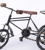 Black Mango Wood & MDF Jodhpuri Antique Rickshaw by Nandani Wood