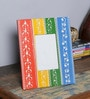 Multicolour MDF 8 x 2 x 10 Inch Handpainted Jodhpuri Photo Frame by Nandani Wood