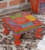 Multicolour MDF Bajot Chowkie by Nandani Wood