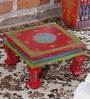 Multicolour MDF Bajot Chowkie by Nandani Wood