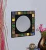 Multicolour MDF Mirror by Nandani Wood