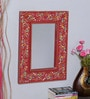 Multicolour MDF Mirror by Nandani Wood