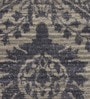 Grey & Ink Woollen Indian Ethnic Hand Woven Area Rug by The Rug Republic