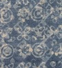 Indigo Cotton Abstract Hand Woven Area Rug by The Rug Republic