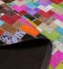 Multicolour Hide Geometric Pattern Carpet by The Rug Republic