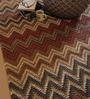 Multicolour Jute Geometric Hand Woven Area Rug by The Rug Republic