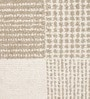Brown Woollen Geometric Hand Woven Area Rug by The Rug Republic