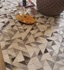 Multicolour Hide Geometric Hand Woven Area Rug by The Rug Republic