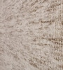 Silver & Beige Wool & Bamboo Solid Carpet by The Rug Republic