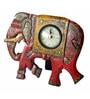 Multicolour MDF Desk Clock by The Shopy