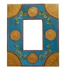 The Shopy Multicolour Solid Wood 9.5 x 0.8 x 11.5 Inch Single Photo Frame