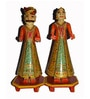 Multicolour Solid Wood Figurines by The Shopy