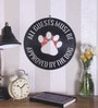 Black Vinyl Record All Guests Must Be Approved by The Dog Wall Sticker by The Upcycle Project