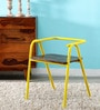 Juliet Outdoor Chair in Yellow Color  by Bohemiana