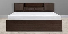 Tiagosuper Queen Size Bed with Storage in Wenge Finish