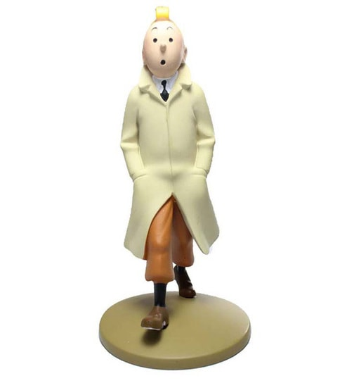 Buy Tintin Walking In Mac Statue By Entertainment Store Online