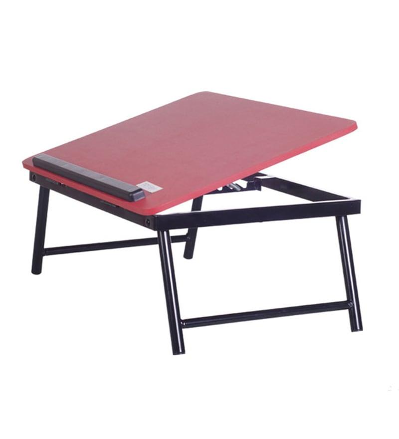 Tidyhomz Adige Steel Red Laptop Table
