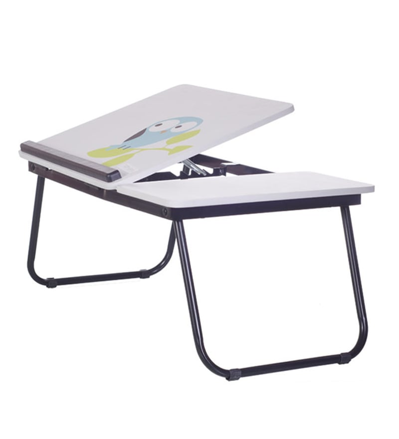 Tidyhomz Niger Steel Owl Print Laptop Table
