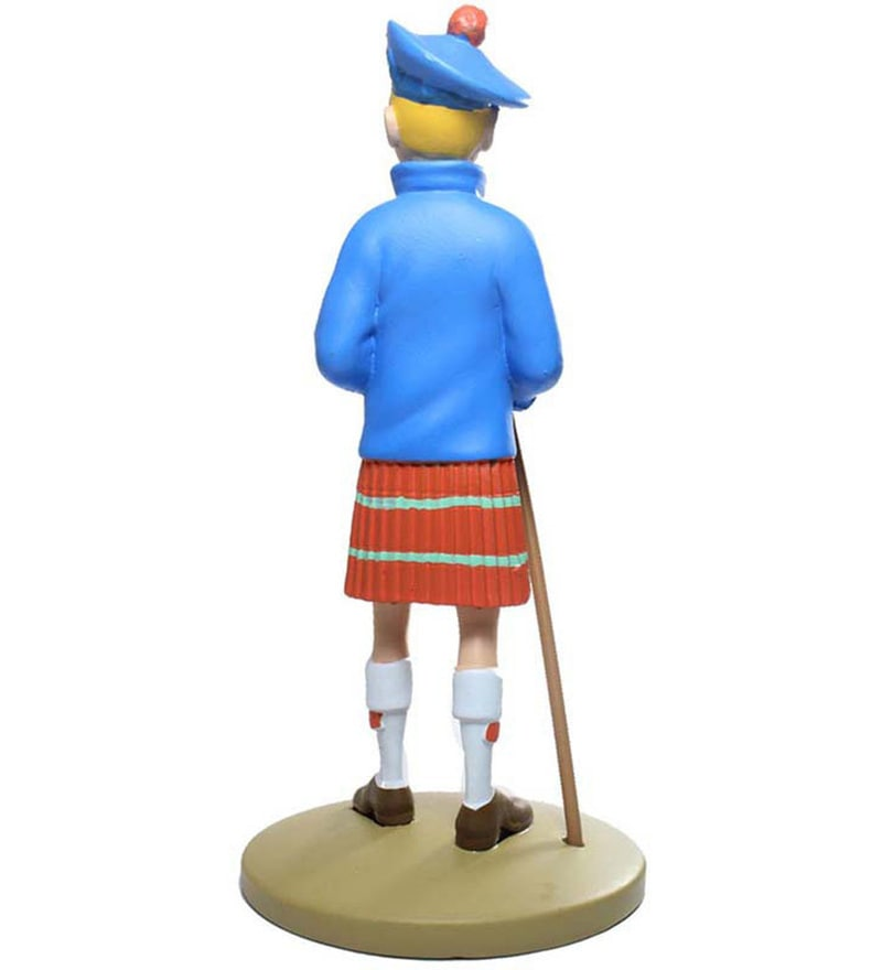 Tintin In A Kilt Statue By Entertainment Store
