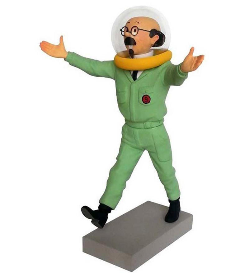 Tintin Professor Calculus Destination Moon Statue by Entertainment Store